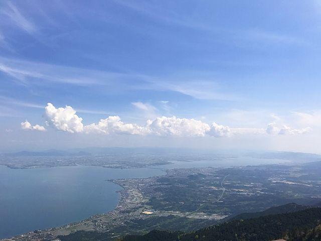 琵琶湖周辺の景色